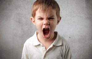 школьник кричит