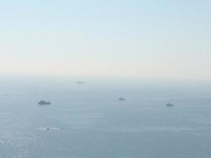 В Одессу заходят военные корабли (ФОТО)
