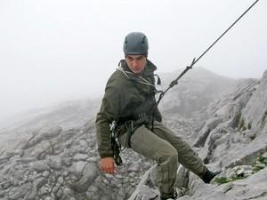 Одесские военные курсанты учатся в австрийских Альпах (ФОТО)