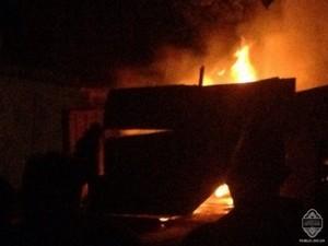 Ночью в Одессе взорвался автомобиль (ВИДЕО, ФОТО)
