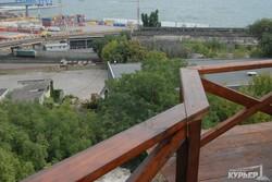 В Одессе отреставрировали еще одну старинную башню в парке Шевченко (ФОТО)