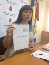 Осауленко берет патриотов «на слабо» и уходит в отставку с поста председателя Приморской райадминистрации