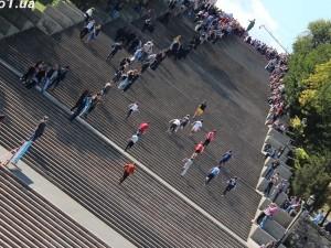 Одесситы устроят забег по Потемкинской лестнице