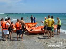 За лето на одесских пляжах спасли 709 человек и нашли 206 детей без присмотра родителей (ФОТО)