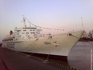 В пятницу в Одессу придет «Корабль Мира»