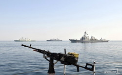 Военно-морские учения «Си Бриз-2014» закончились противолодочной операцией (ФОТО)