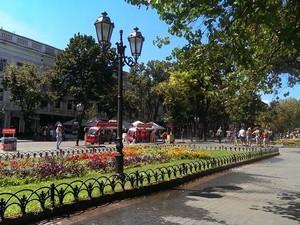 Туристов в Одессе в этом году было меньше, чем обычно