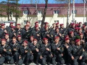 В Болграде развернут бригаду Национальной гвардии