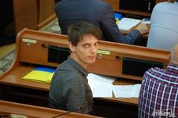 Облсовет заполонили сторонники Алексея Гончаренко