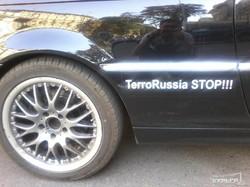 По Одессе ездит антипутинский кабриолет (ФОТОФАКТ)