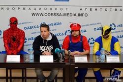 Стало известно имя Супер Марио, который вместе с другими клоунами будет баллотироваться по 135 округу в Одессе (ФОТО, обновлено)