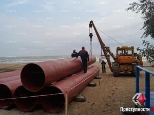 Дело - труба: областные власти спасают Куяльницкий лиман (ФОТО)