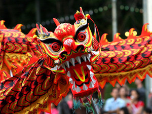 Фестиваль в китайском стиле в Горсаду