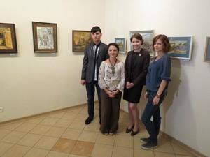 Южнорусскую школу живописи представляют в муниципальном музее