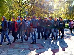 С титушками в Одессе не рассчитались (ВИДЕО, ФОТО)