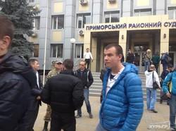 Расследование по делу Шуфрича: активисты сорвали заседание суда (ФОТО)