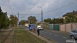 Одесские трамвайные остановки: по линии на Фонтан таки не фонтан (ФОТО)