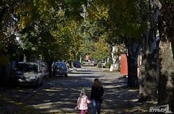 Начало золотой осени в Одессе (ФОТО)