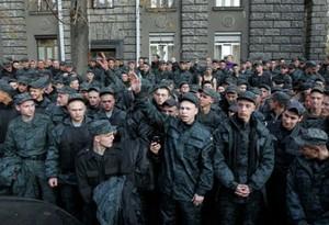 Бунт нацгвардейцев в Одессе предотвратил один человек