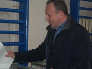 Дмитрий Спивак отдал голос за Одессу и свободную независимую Украину