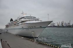 Круизный сезон в Одессе завершился с трехдневным опозданием (ФОТО)