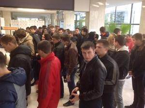 Выборы в одесской Юракадемии: аншлаг студентов (ФОТО)