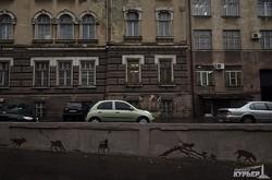На Карантинном спуске завершена роспись стен (ФОТО)