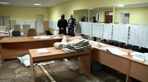Блокада с окружной комиссии №140 в Беляевке снята, провокация не прошла