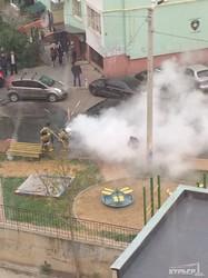 В Одессе взорвался автомобиль (ФОТО)