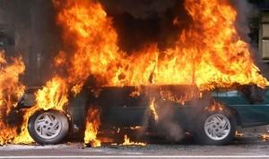 Прошлой ночью в Одессе снова горели автомобили