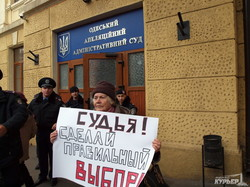 Одесситы требуют пересчета голосов в Киевском районе (ФОТОРЕПОРТАЖ, обновлено)
