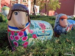 Одесский художественный музей захватило стадо овец (ФОТО)