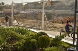 Как выглядит котлован строящегося отеля на центральной аллее «Аркадии» (ФОТО)
