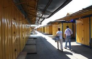 Торговцы рынка «Южный» перекрывали дорогу, требуя отменить повышение аренды (ВИДЕО)