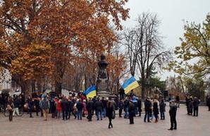 Митинг против непрозрачных городских проектов мэра Одессы (Фоторепортаж, ВИДЕО)