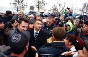 Как одесситы против стройки на Ланжероне протестовали и с Кисловским ругались (ФОТОРЕПОРТАЖ)