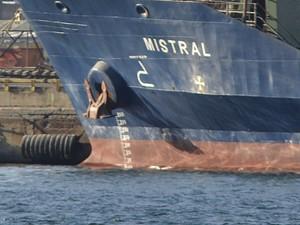 В одесском морском порту стоит «Мистраль» (ФОТОФАКТ)