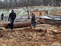 Одесский Ланжерон: стройка у моря продолжается (ФОТО)