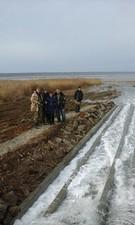 Трубопровод из Черного моря в Куяльницкий лиман готов