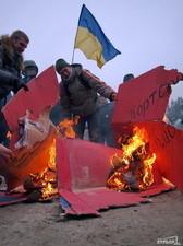 Несмотря на готовнось к силовому противостоянию, «Генеральный протест» отменил акцию на Ланжероне