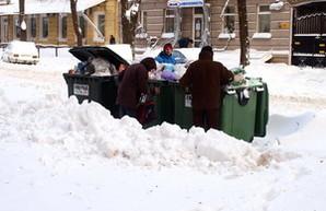 Из Одессы уже три дня не вывозят мусор (ФОТО)