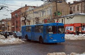 Шесть дней после снегопада: одесский электротранспорт все еще работает плохо