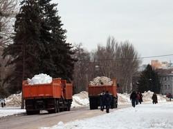 Одесское Куликово поле превратилось в сплошной сугроб (ФОТОФАКТ)