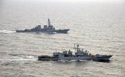 В Черном море прошли украино-американские военно-морские учения PASSEX (ФОТО)