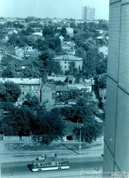 Улица Фрунзе и вид на центр города, 1970-е гг.
