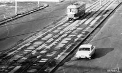 Улица Фрунзе у автовокзала, 1982 г.