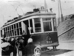 Балковская у Пересыпского моста во время оккупации, 1942 г.