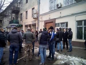 В Одессе штурмуют управление внутренней безопасности МВД (ФОТО, обновлено)