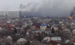 За сутки боевики пять раз атаковали Мариуполь