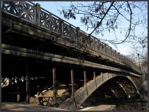 Построенный во Франции одесский мост Коцебу закрыли для движения